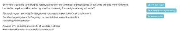 Ny hjælpeknap - Dansk Kemidatabase